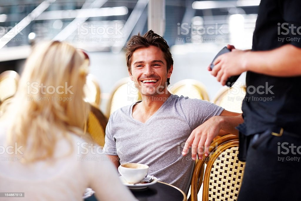 What are we having? stock photo