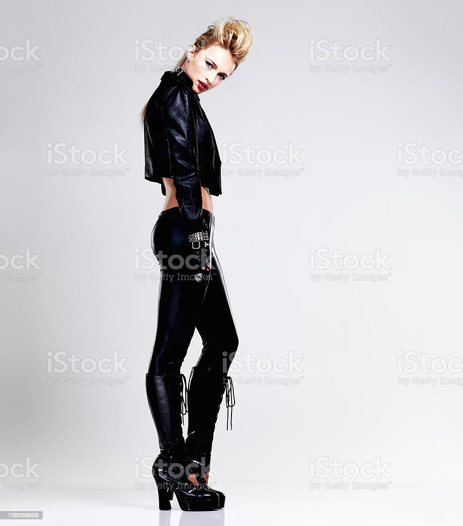 What are you looking at? stock photo