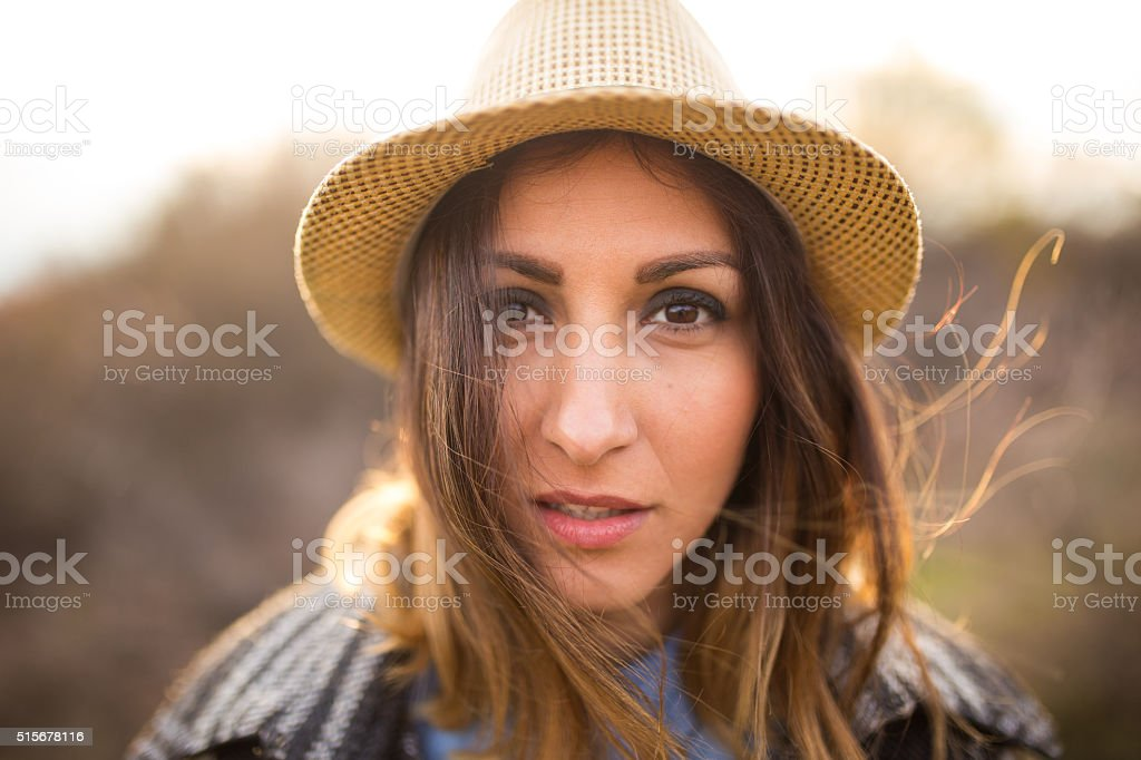 What are you thinking about? stock photo
