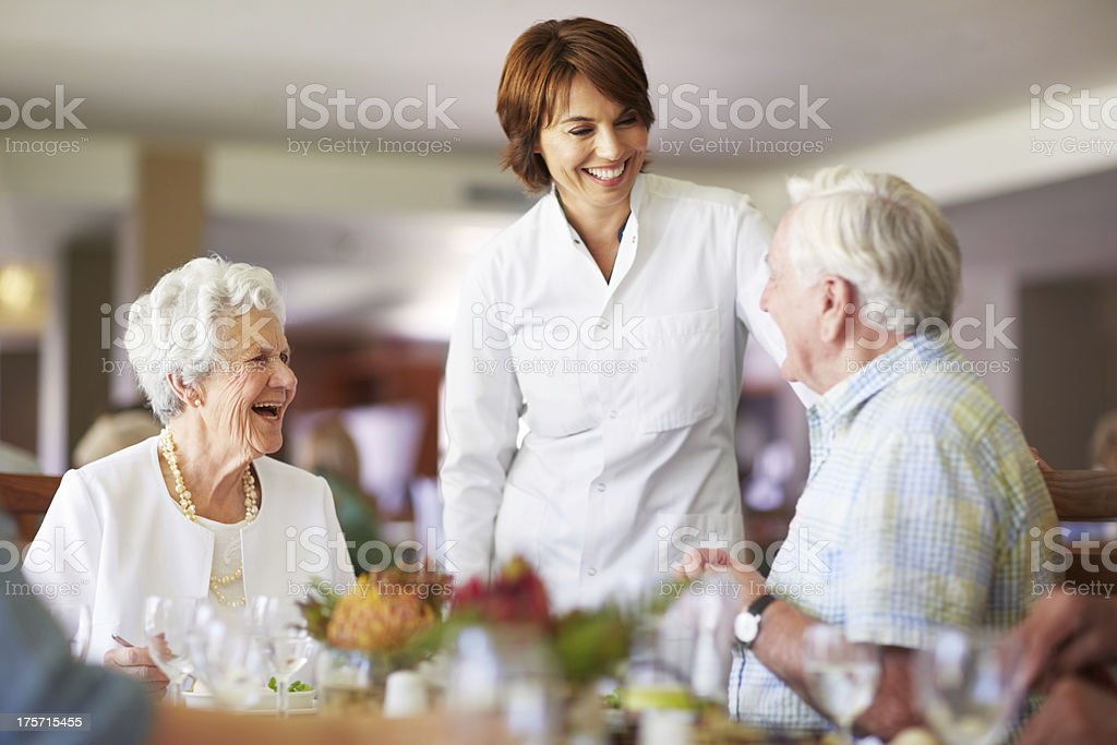 What can I get you sir? royalty-free stock photo