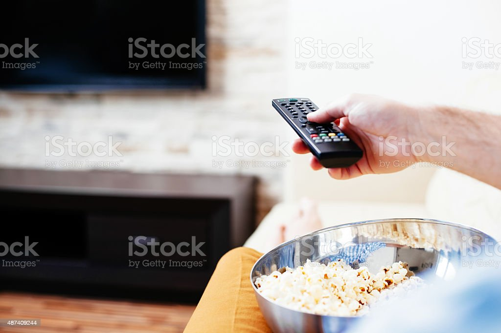 What channel is it on? stock photo