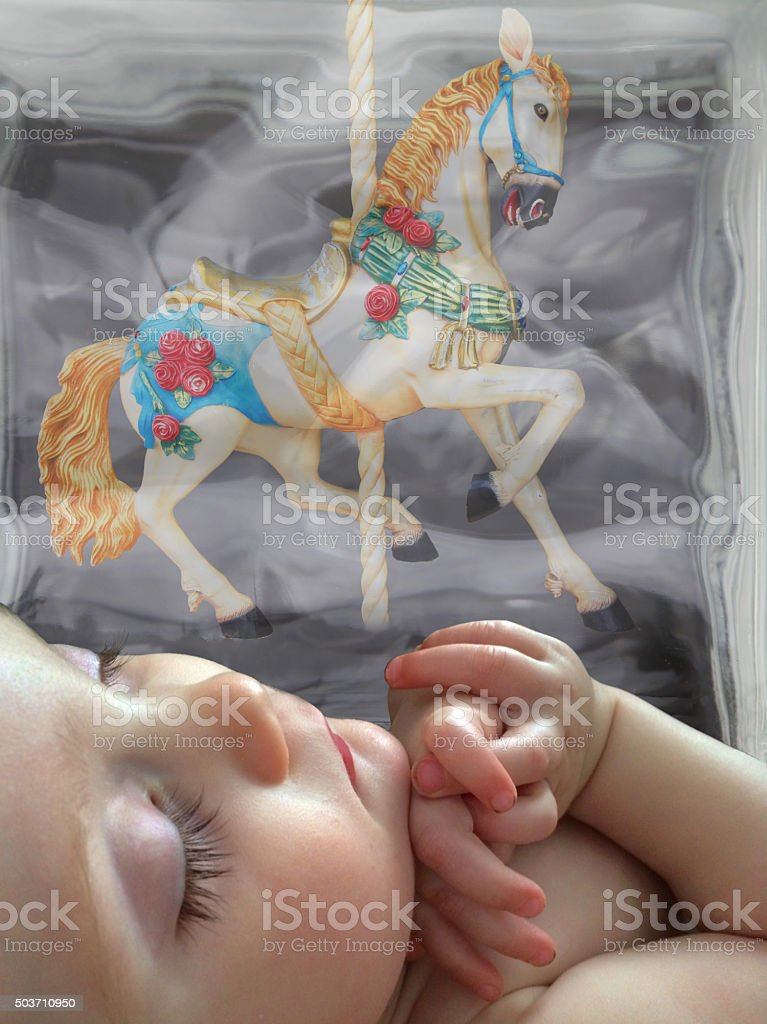 what children dream stock photo