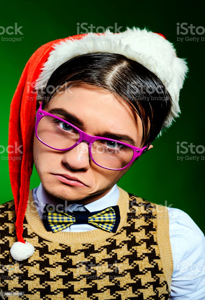 what did you say about this Christmas? stock photo