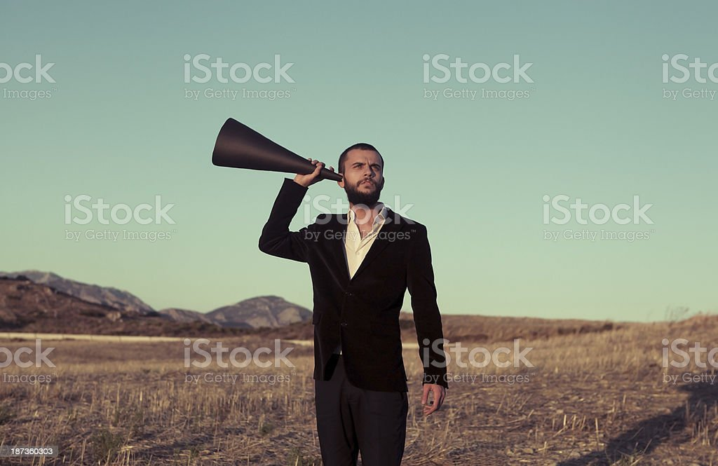 What Did You Say ? stock photo