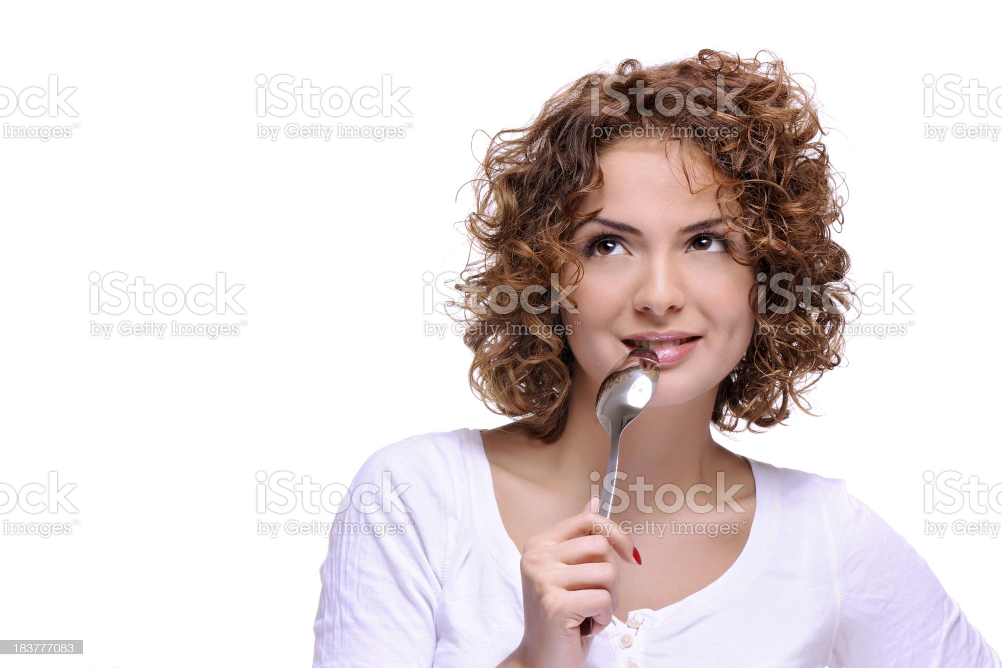 What do i want to eat? royalty-free stock photo