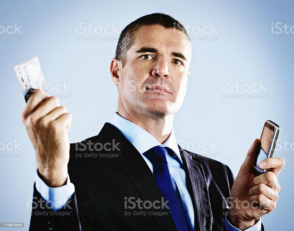 What do you mean my card is declined? royalty-free stock photo