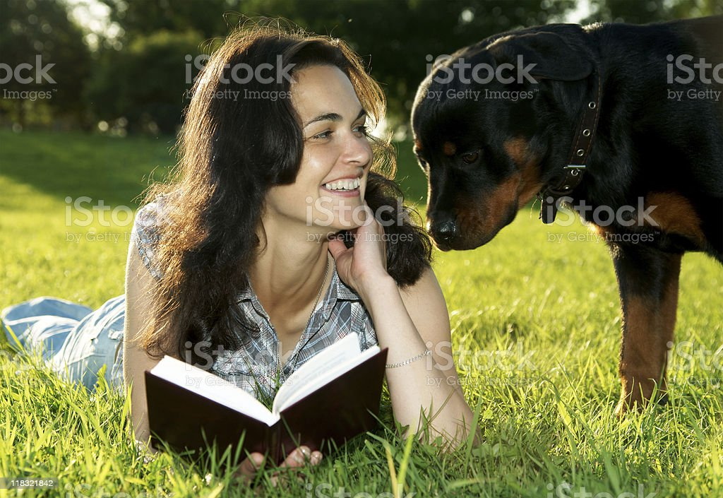 What do you read? royalty-free stock photo