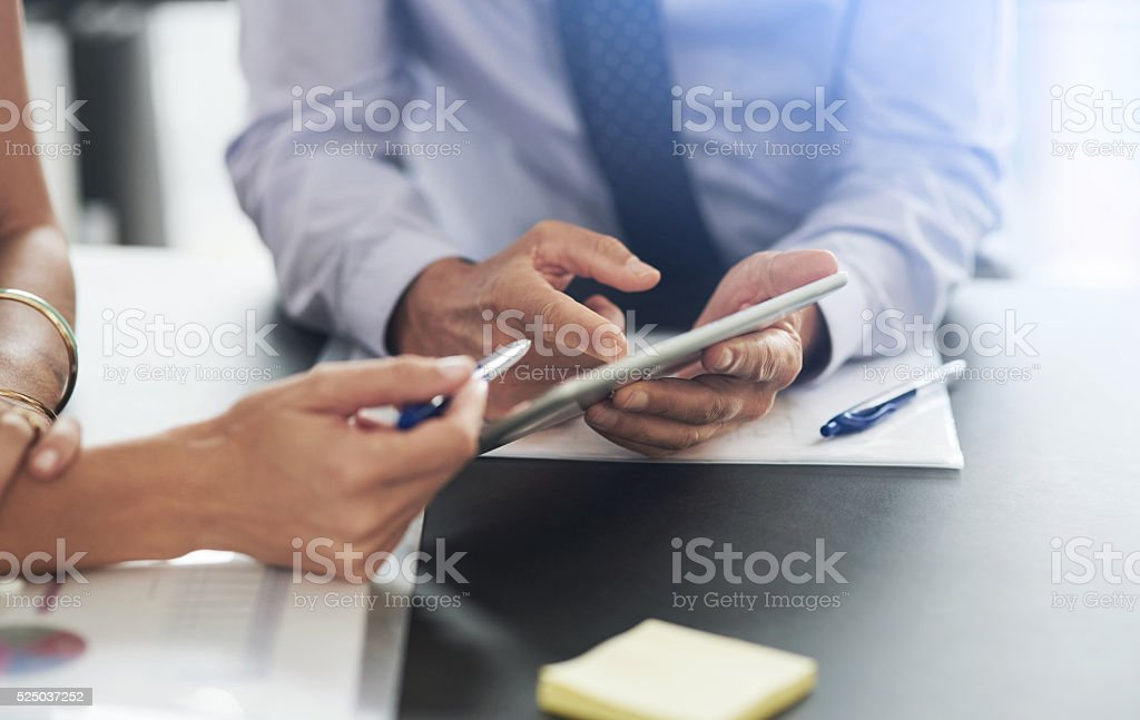 What do you think? stock photo