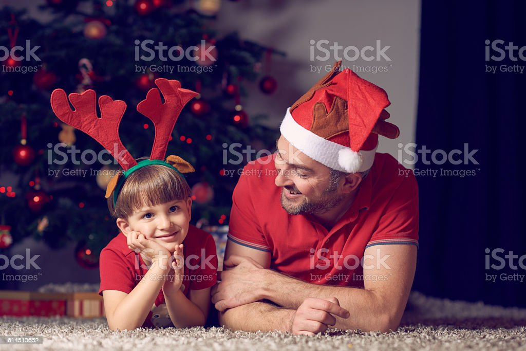what do you want for Christmas? stock photo