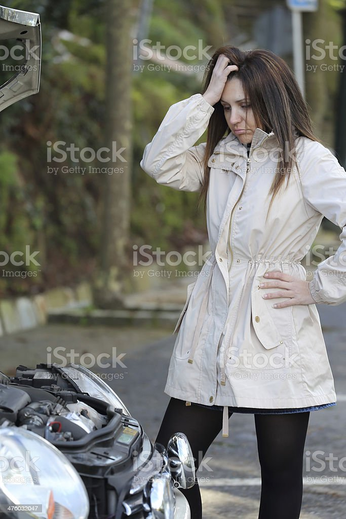 What does not work? stock photo