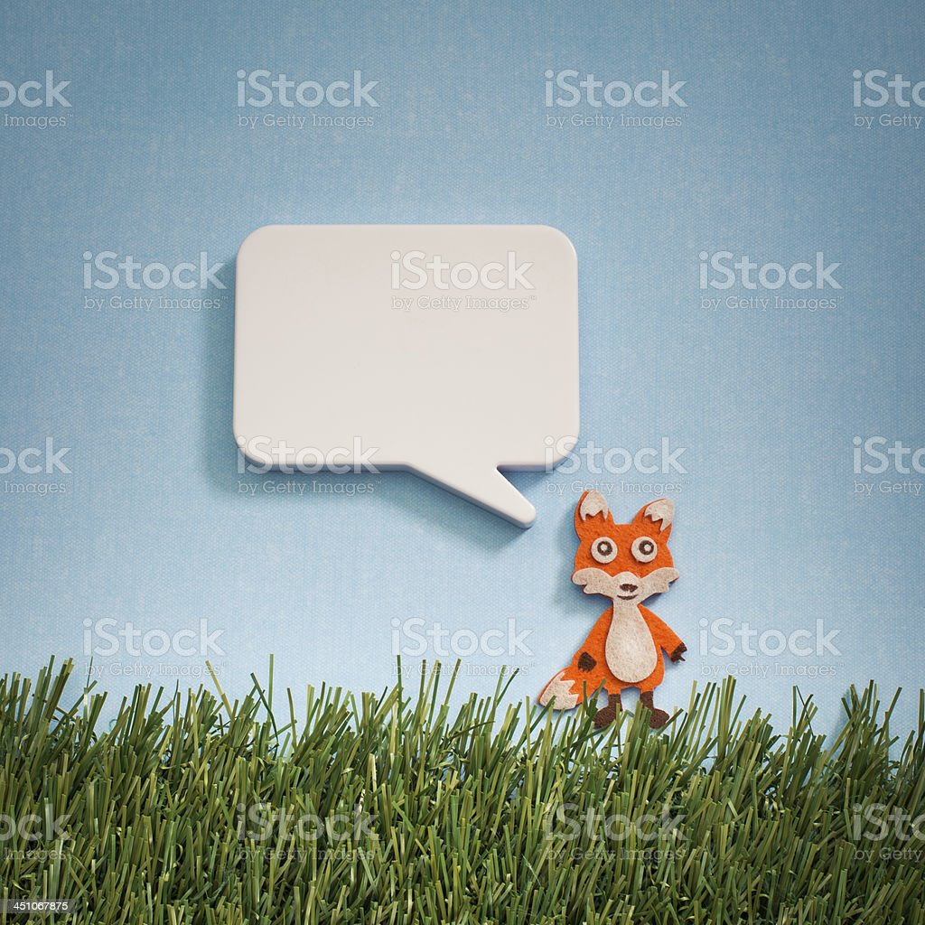 What Does The Fox Say royalty-free stock photo