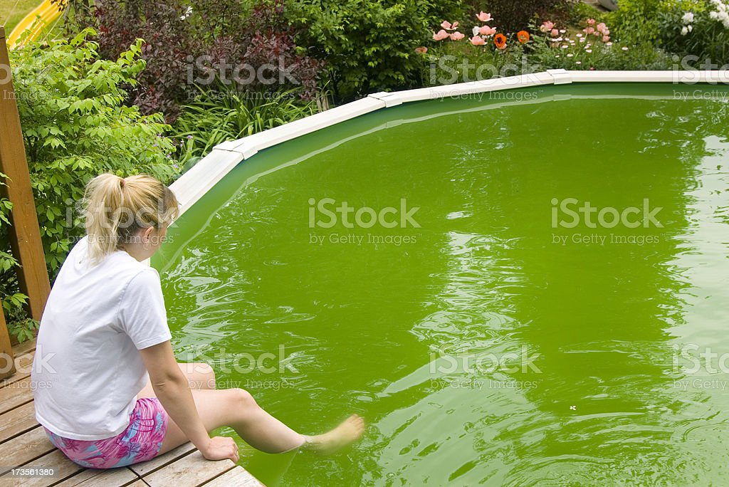 What Happened To The Pool? royalty-free stock photo