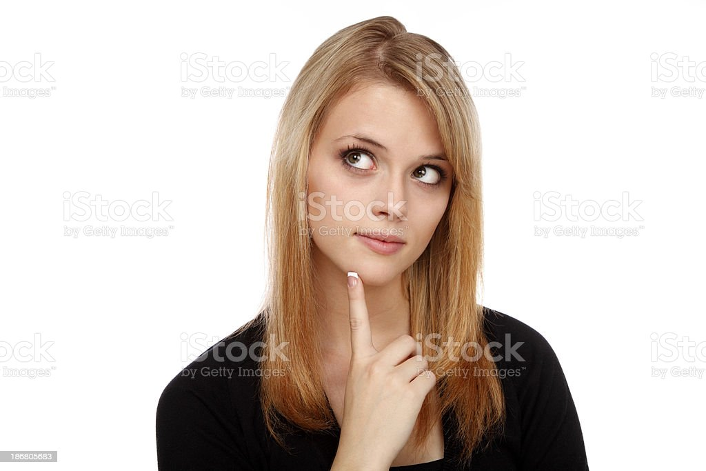 What If? royalty-free stock photo