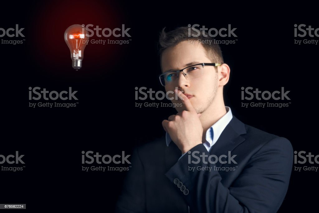 'What if?' stock photo