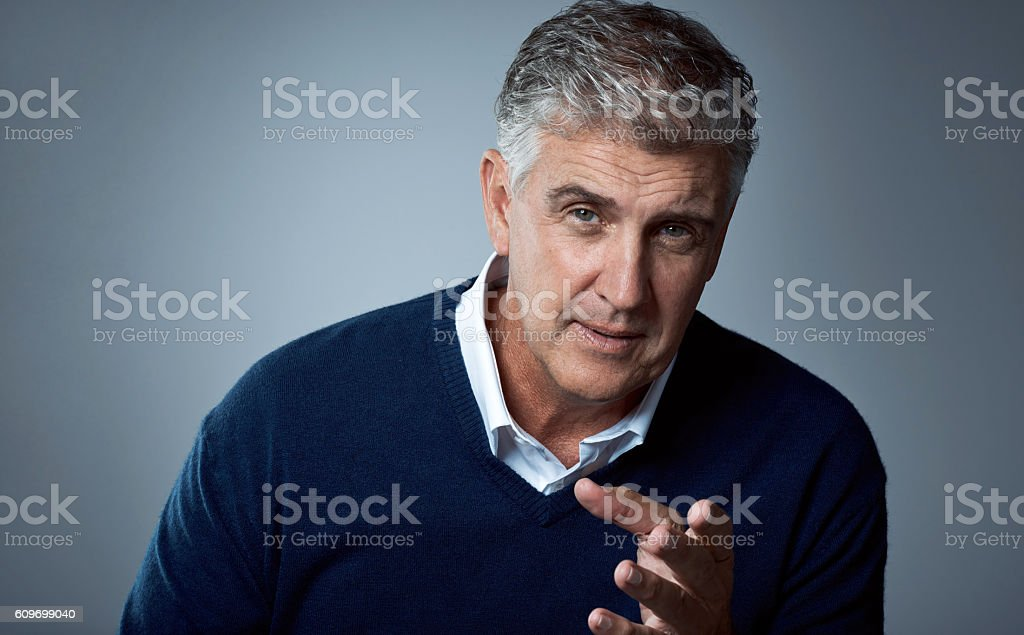 What I'm trying to say is… stock photo
