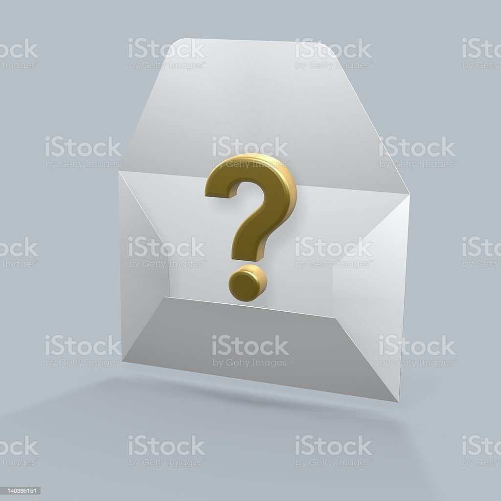 what is in the mail royalty-free stock photo