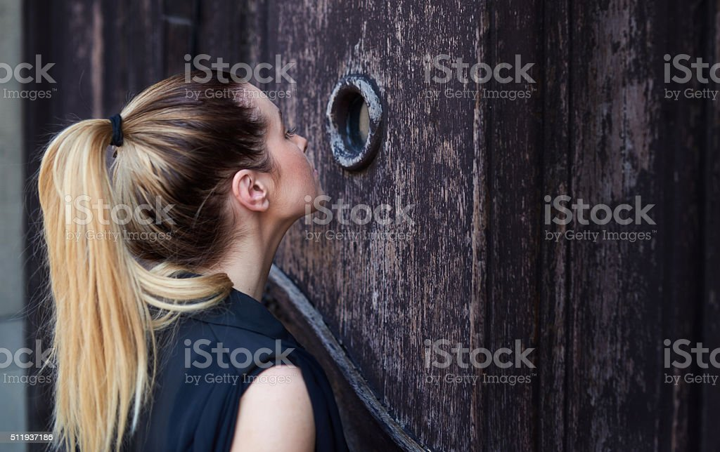 what is inside it? stock photo