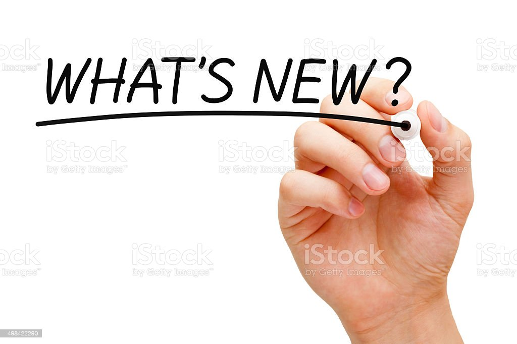 What is New Black Marker stock photo