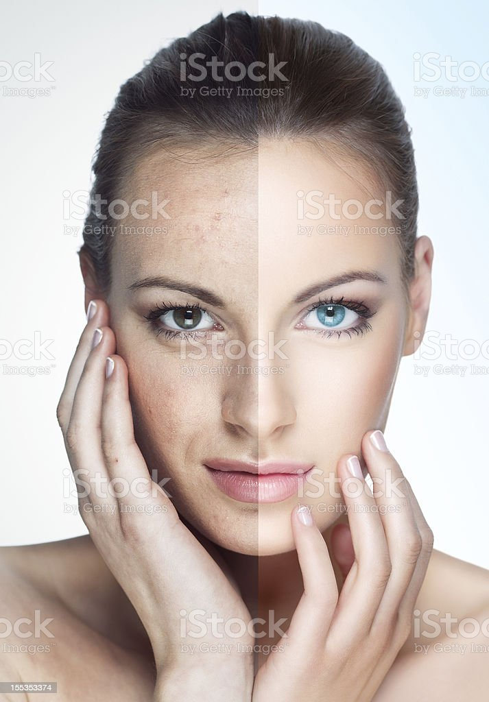 What is real beauty? royalty-free stock photo