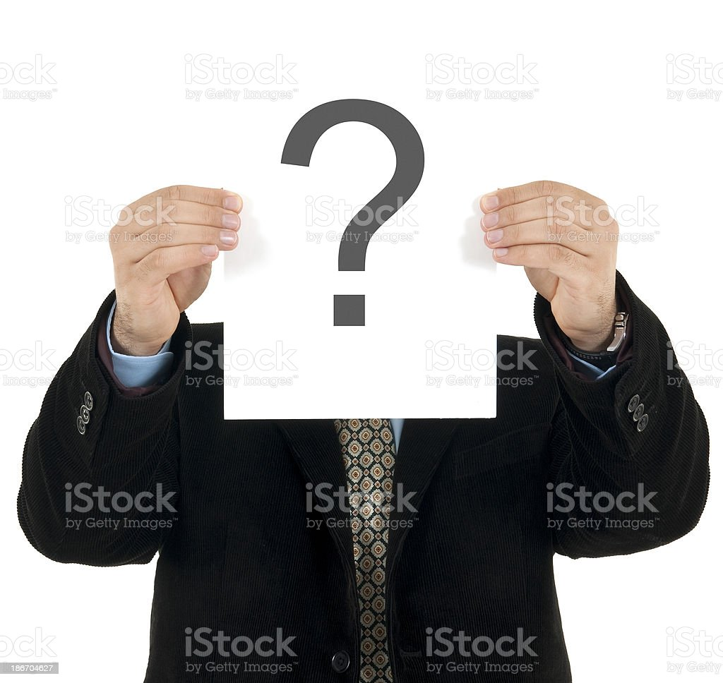 what is the answer stock photo