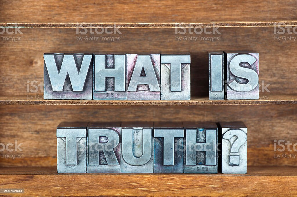 what is truth tray stock photo