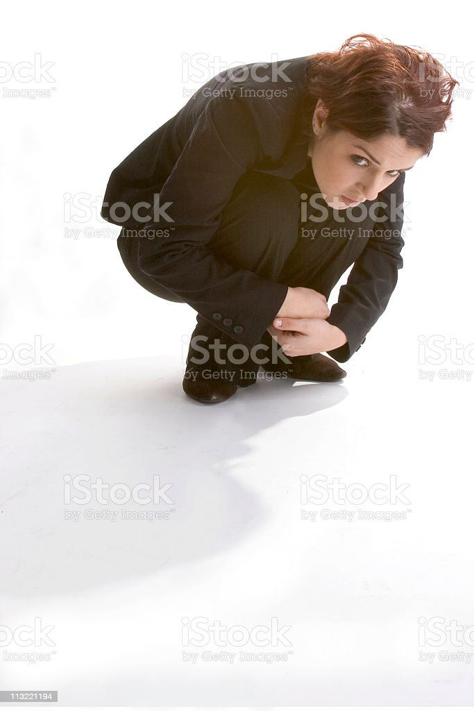 what is under the table? royalty-free stock photo