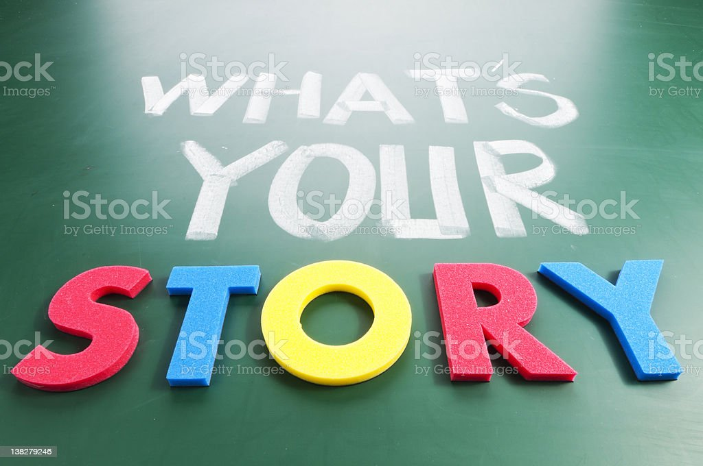 What is your story? royalty-free stock photo