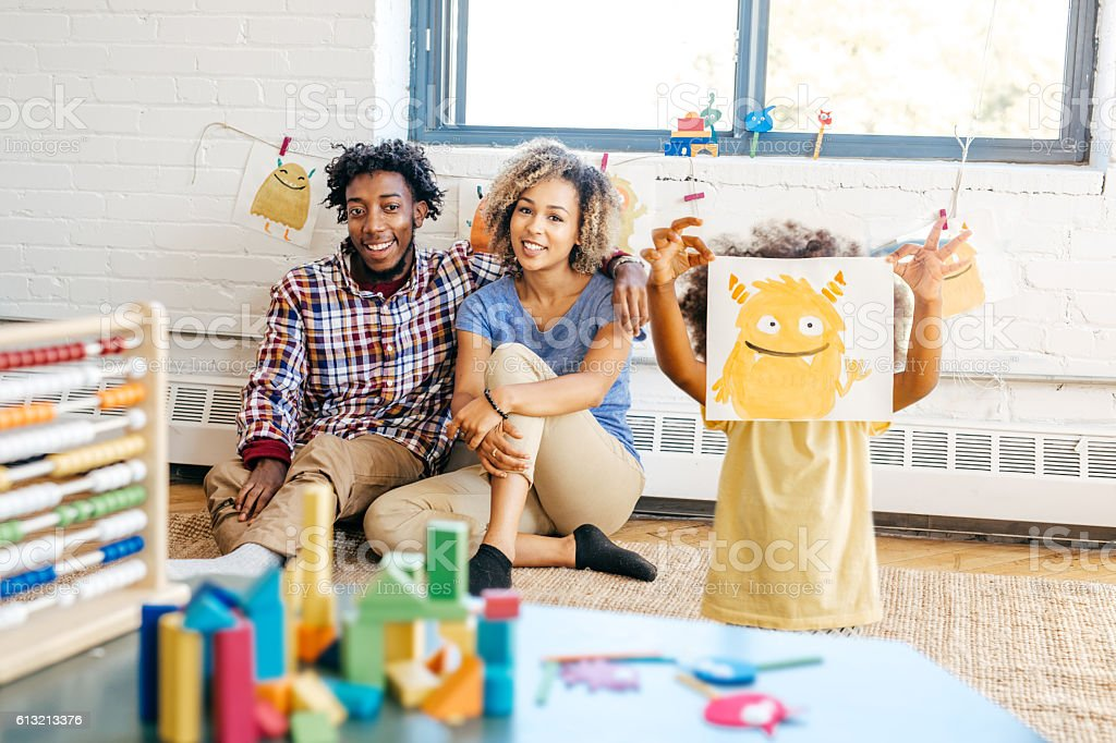 What makes a good parent stock photo