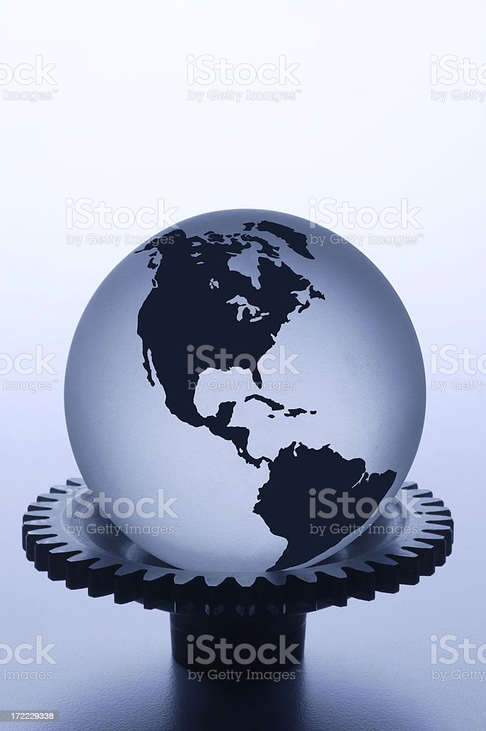 What Makes the World Go Round royalty-free stock photo