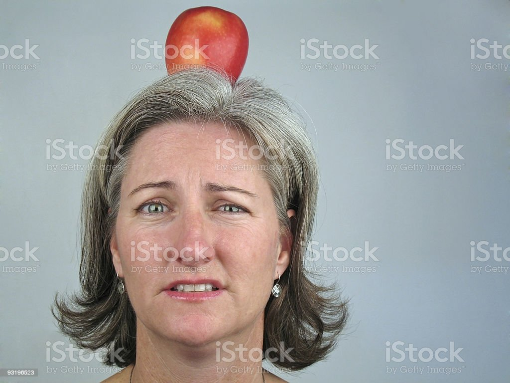 what, me worry? stock photo