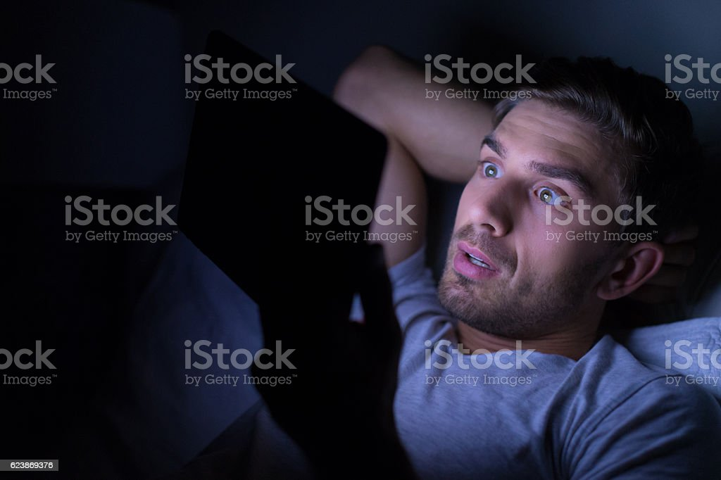 What, my stock prices are dropping! stock photo