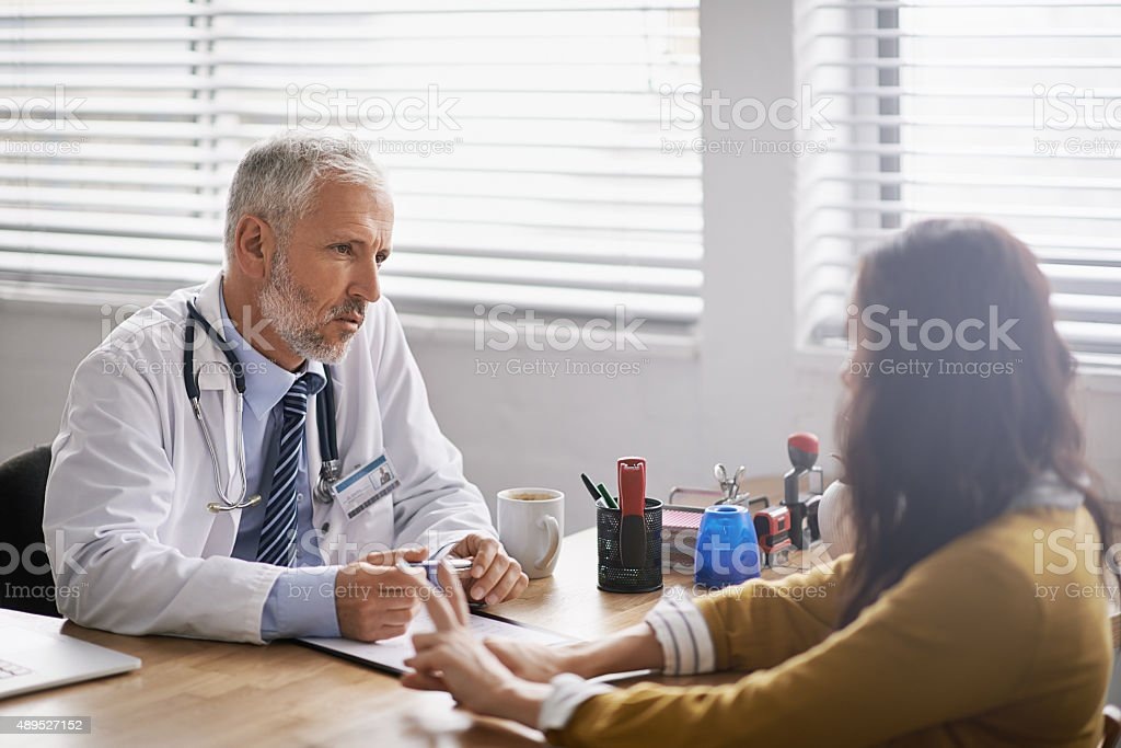 What seems to be the problem? stock photo