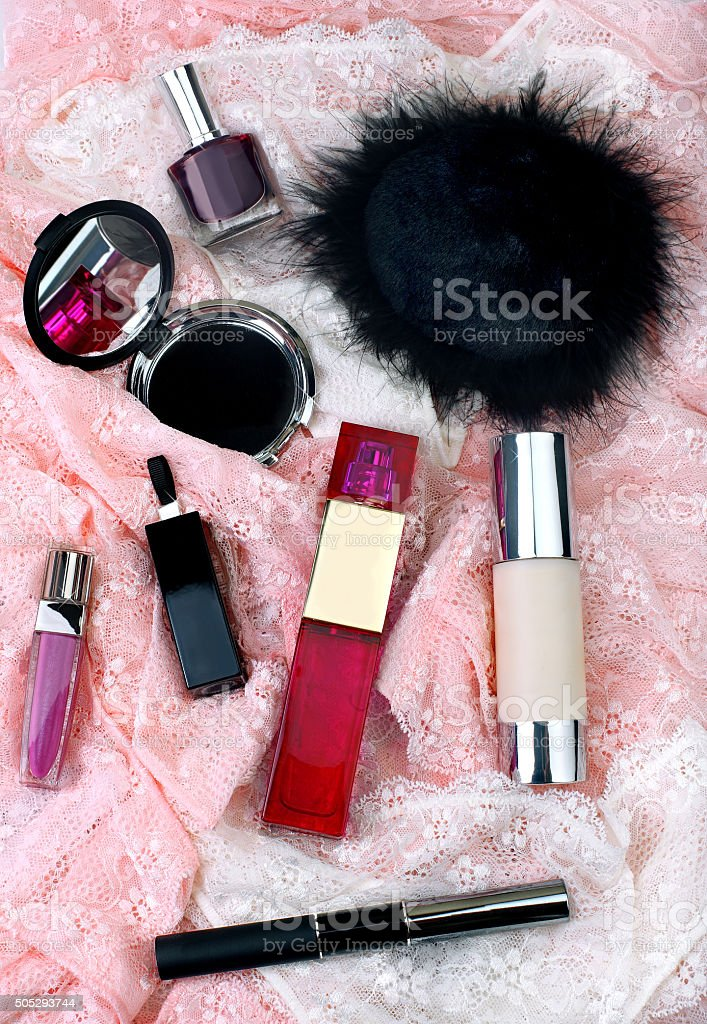 What Should Be in Every Woman's Handbag stock photo