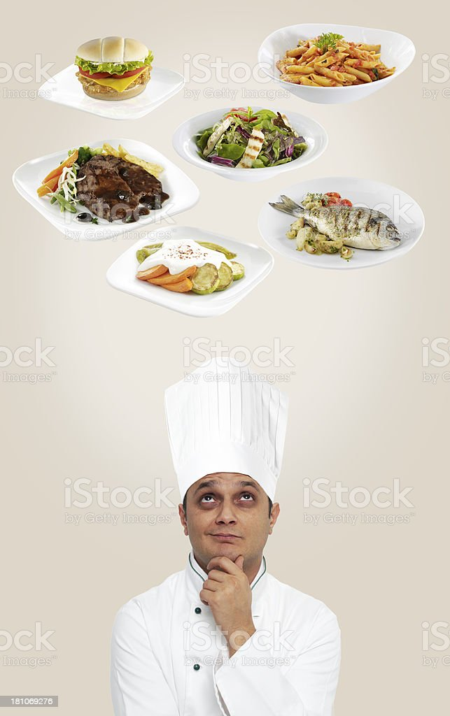 What Should I Cook Today royalty-free stock photo