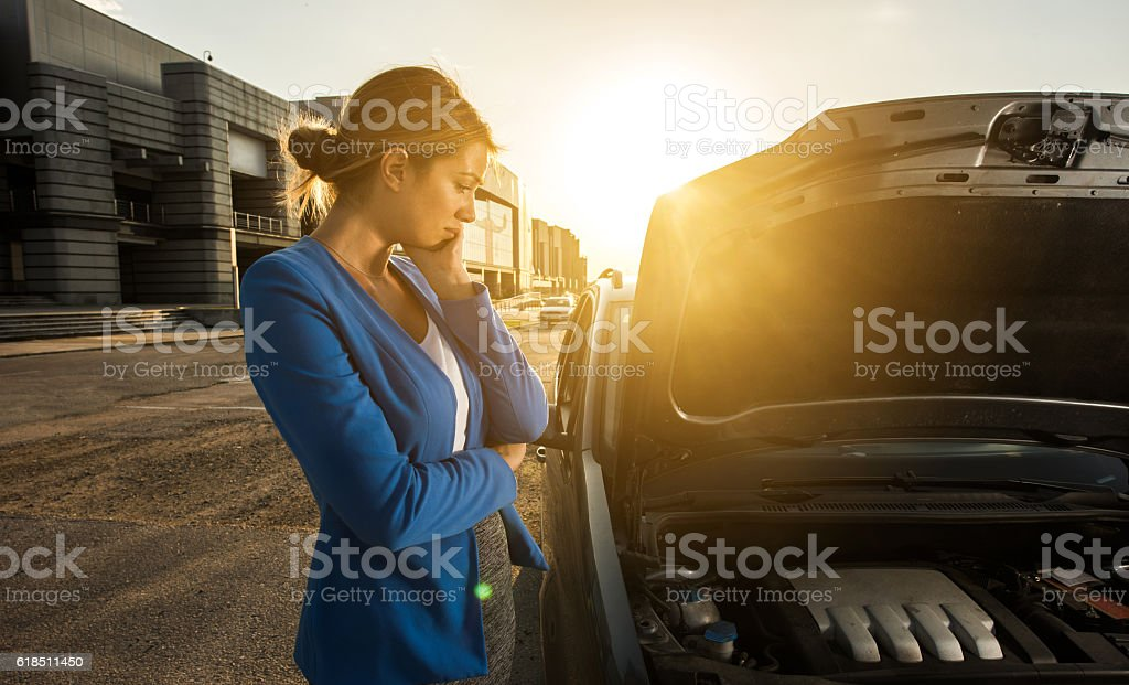 What should I do with my car now? stock photo