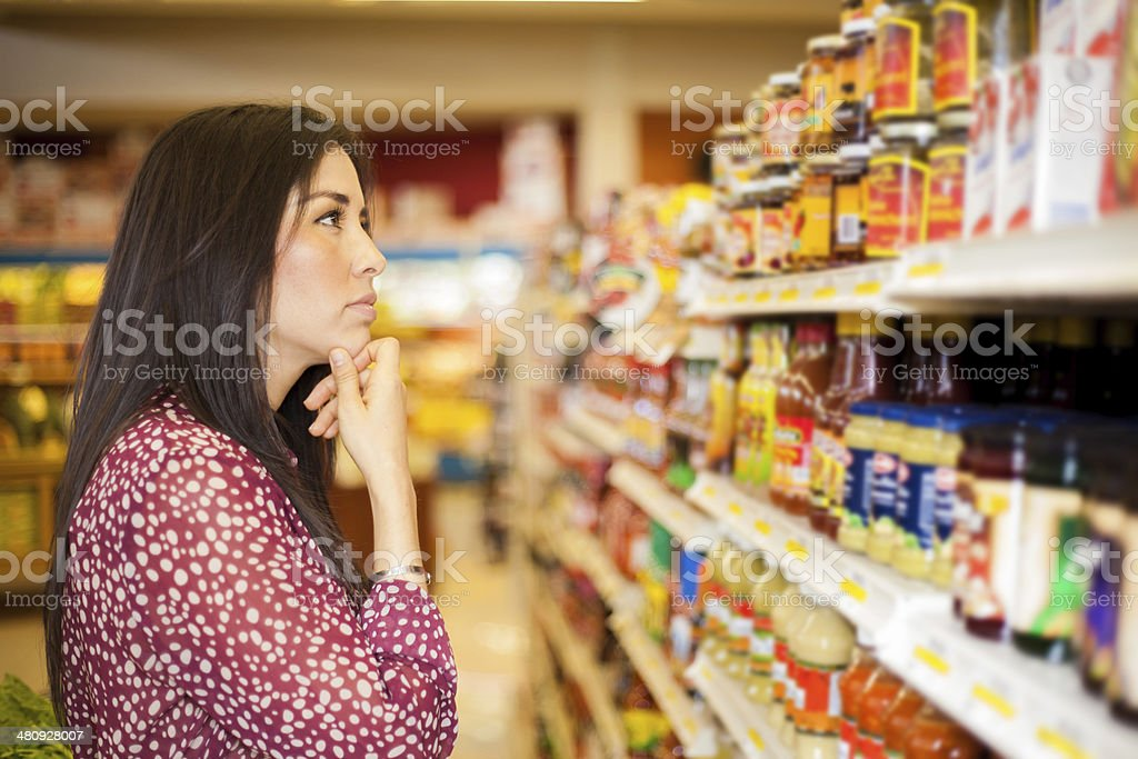 What should I get? stock photo