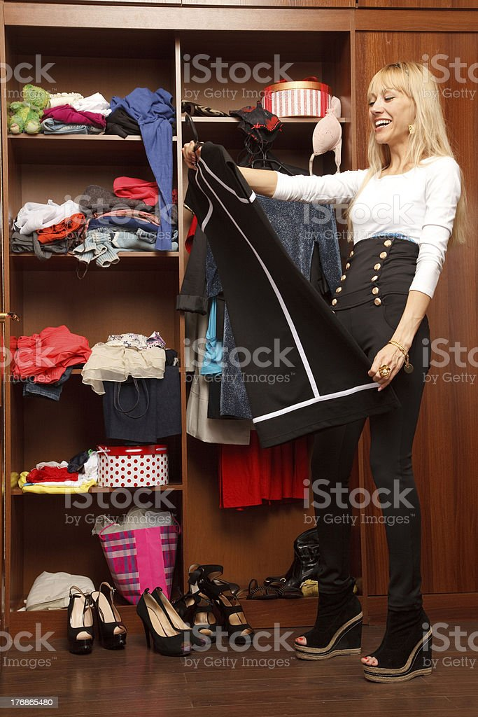 What should i wear ? royalty-free stock photo