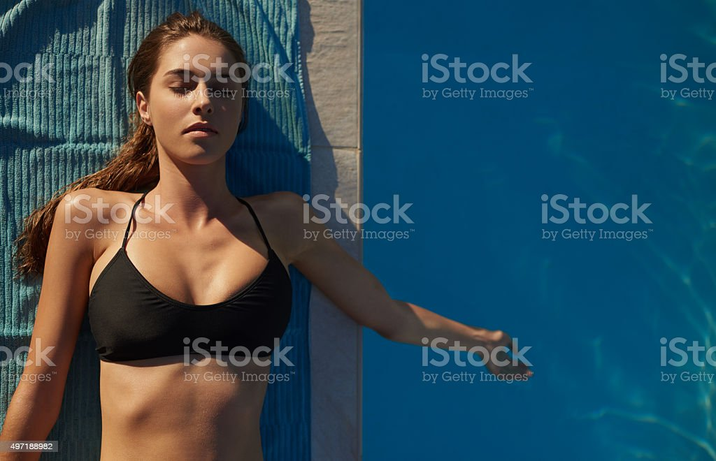 What summer dreams are made of stock photo