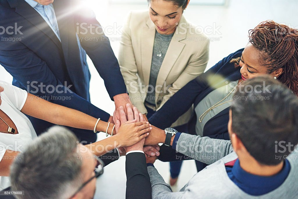 What teams are made of stock photo