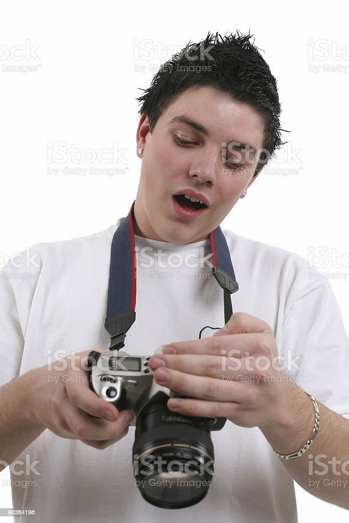 What the.... !!!! stock photo
