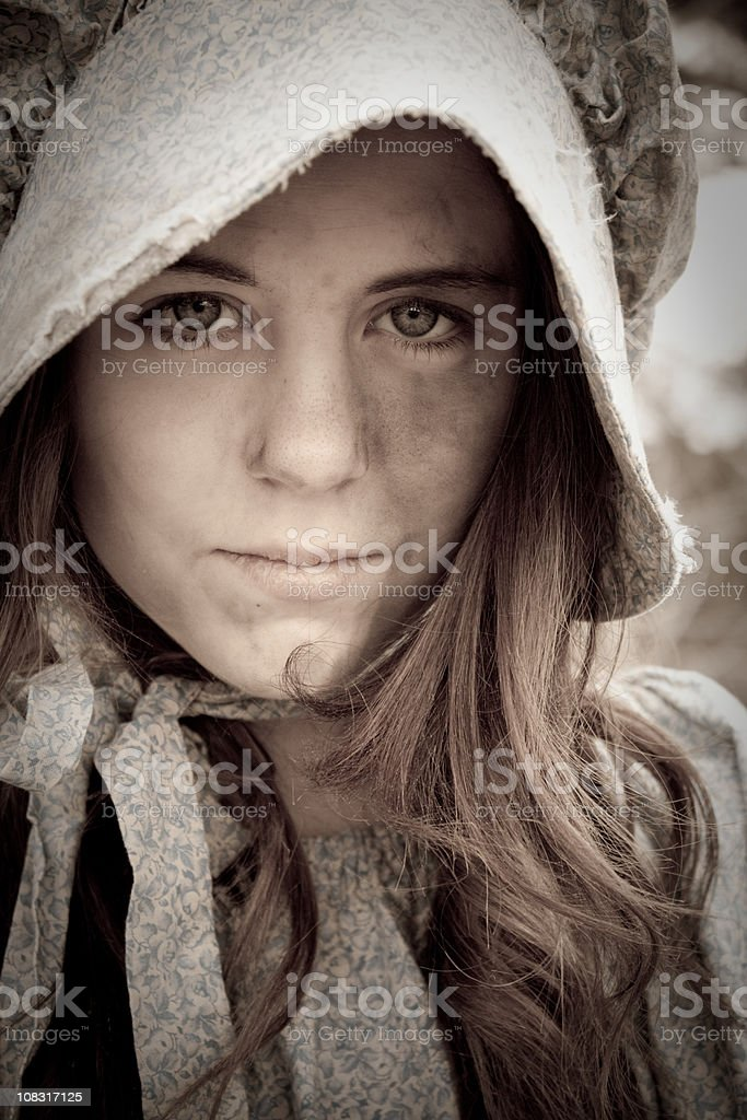 What these eyes have seen... stock photo