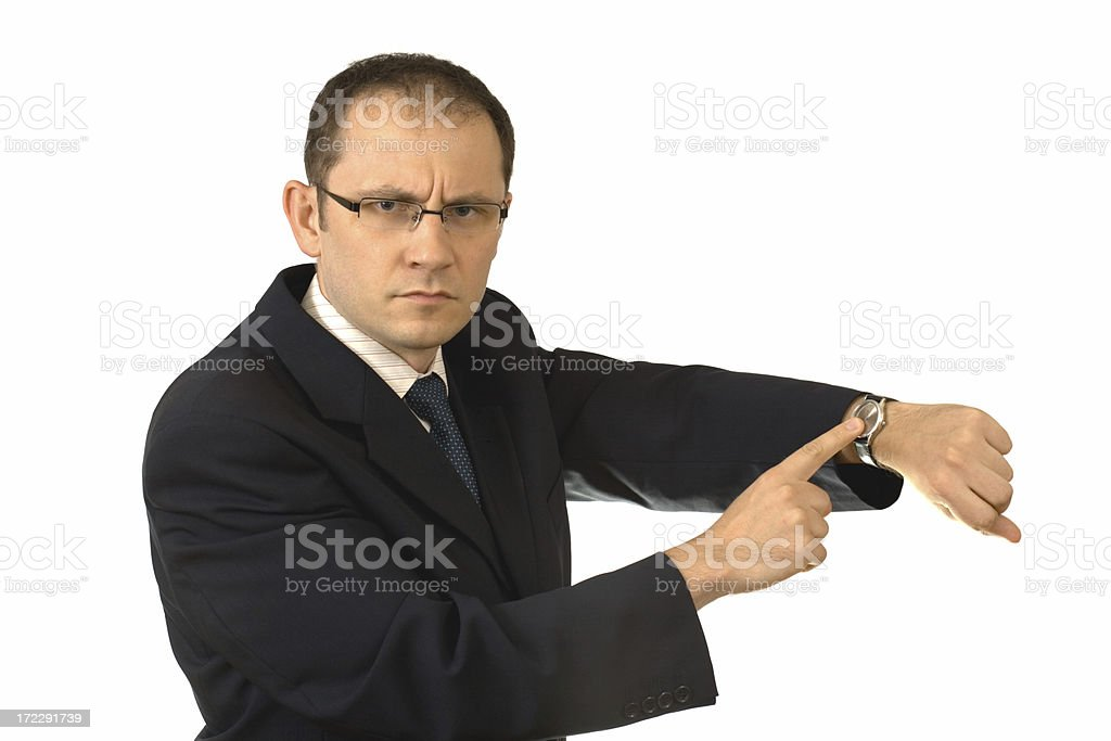 what time is it? royalty-free stock photo