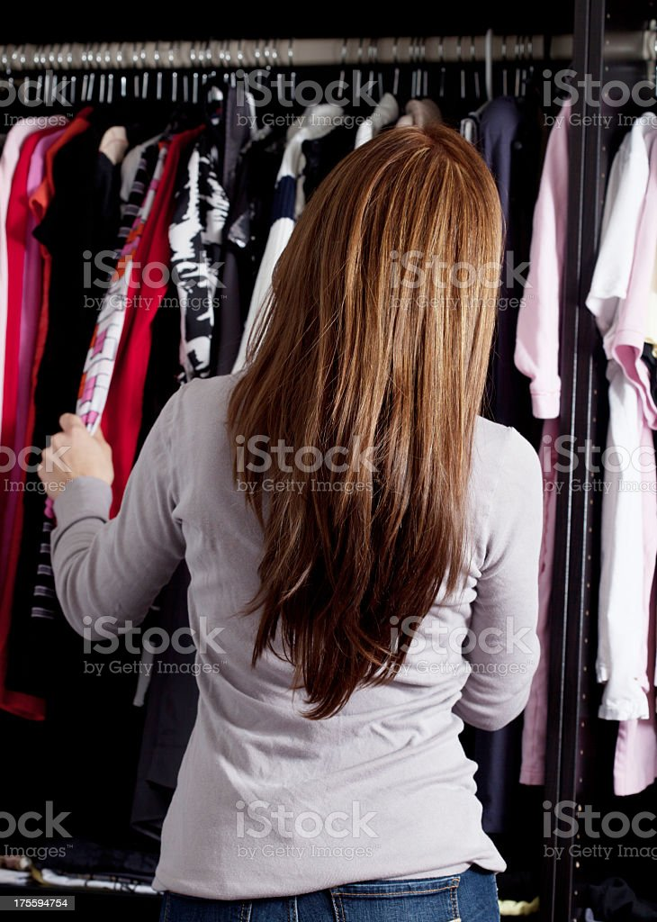 What to Wear? royalty-free stock photo