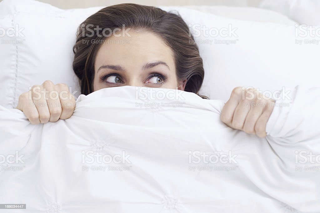 What was that? stock photo