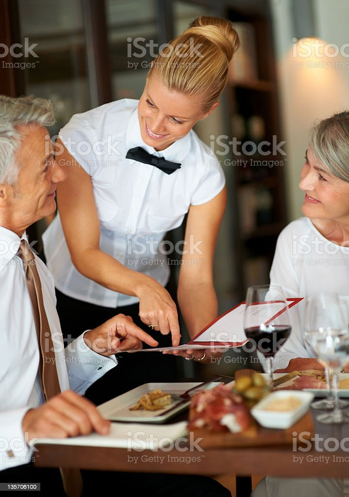 What would you recommend? stock photo