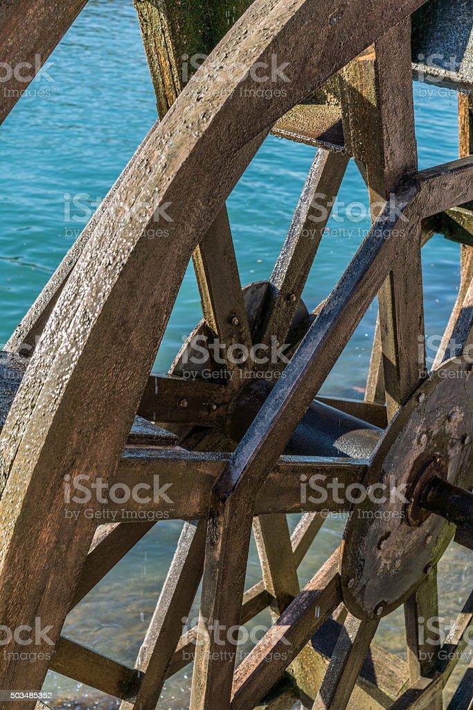 whater wheel stock photo