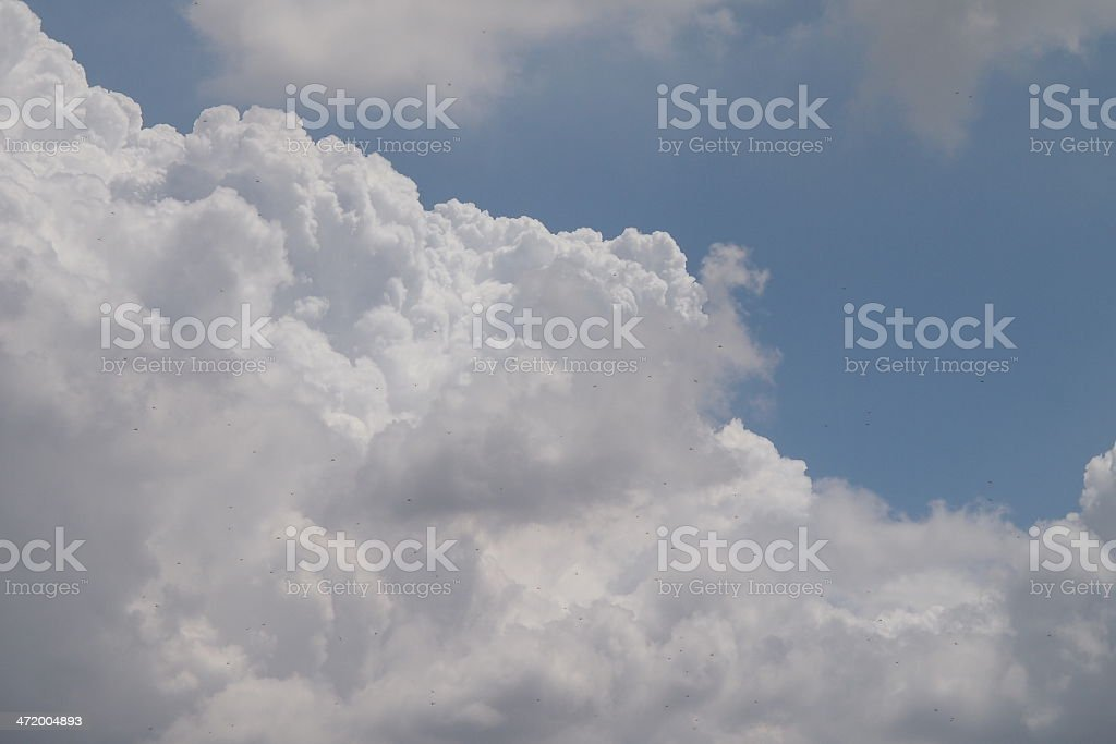 What's dot on the cloud stock photo