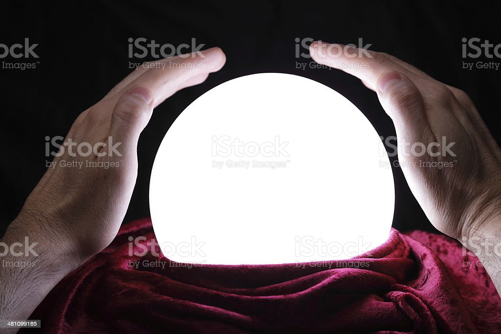 What's in my future? stock photo