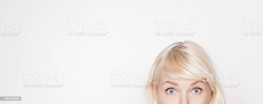 Whats that up there? stock photo