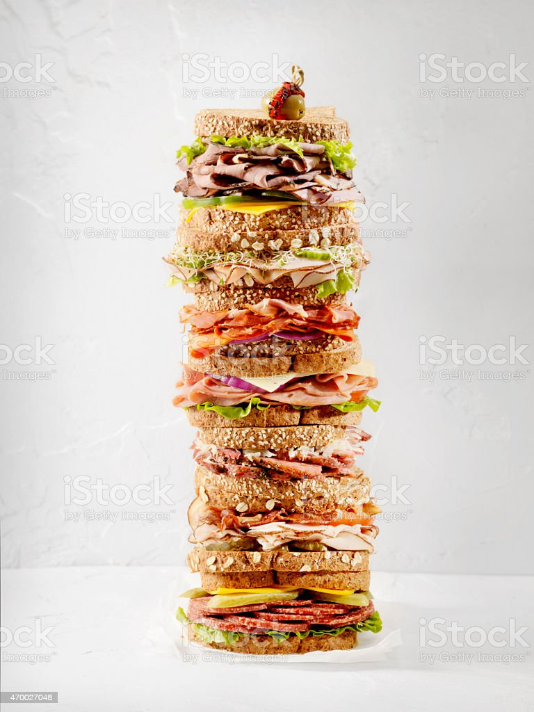 What's your Favourite Sandwich stock photo